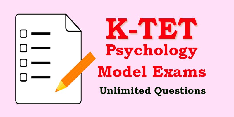 KTET | Category I | Category II | Psychology Previous Questions & Answers | Part 13